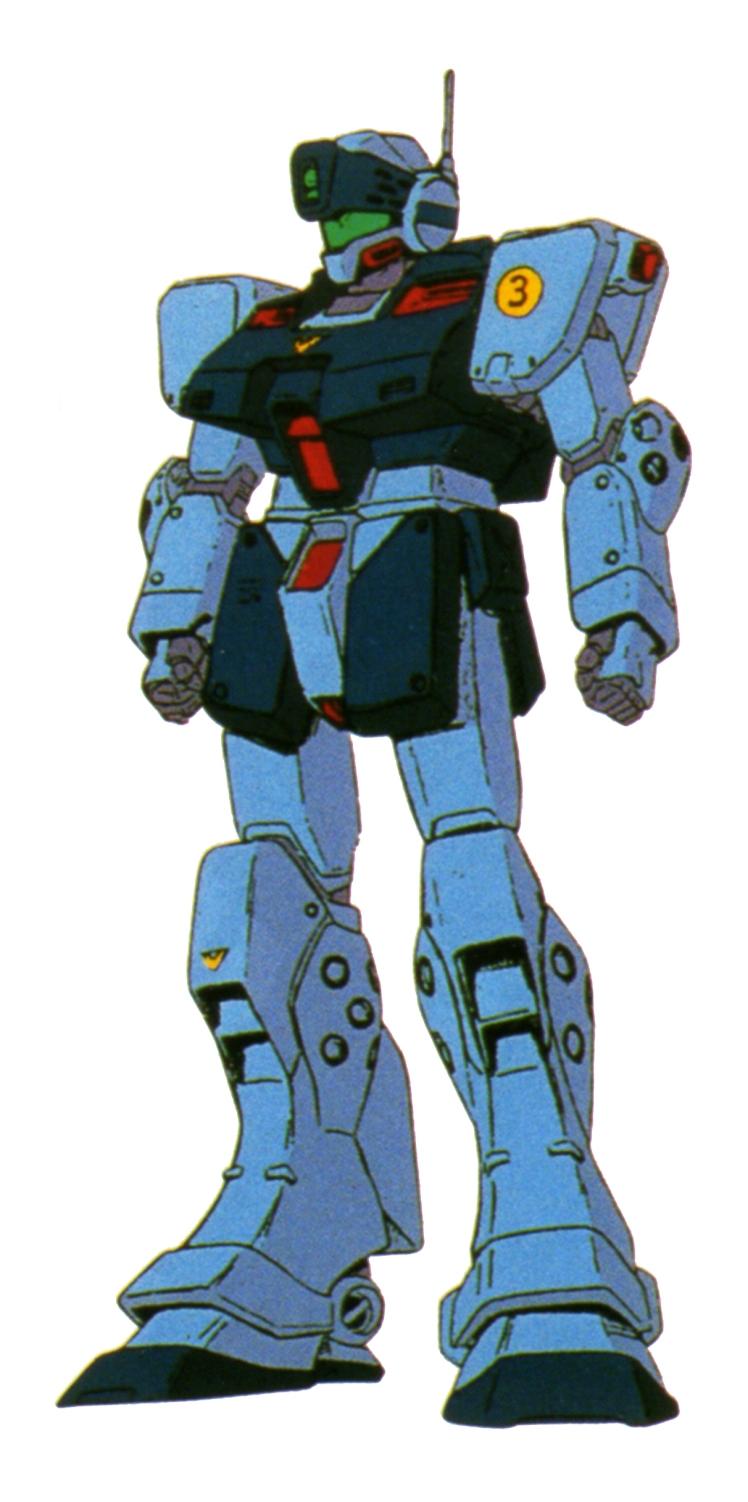 RGM-79SP Anime