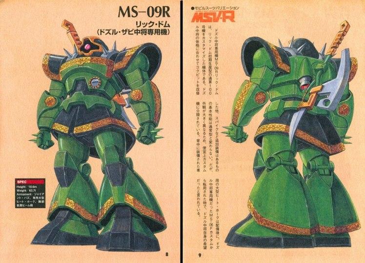 MSV-R_MS-09R_Rick_Dom_Dozle_Zabi_Custom