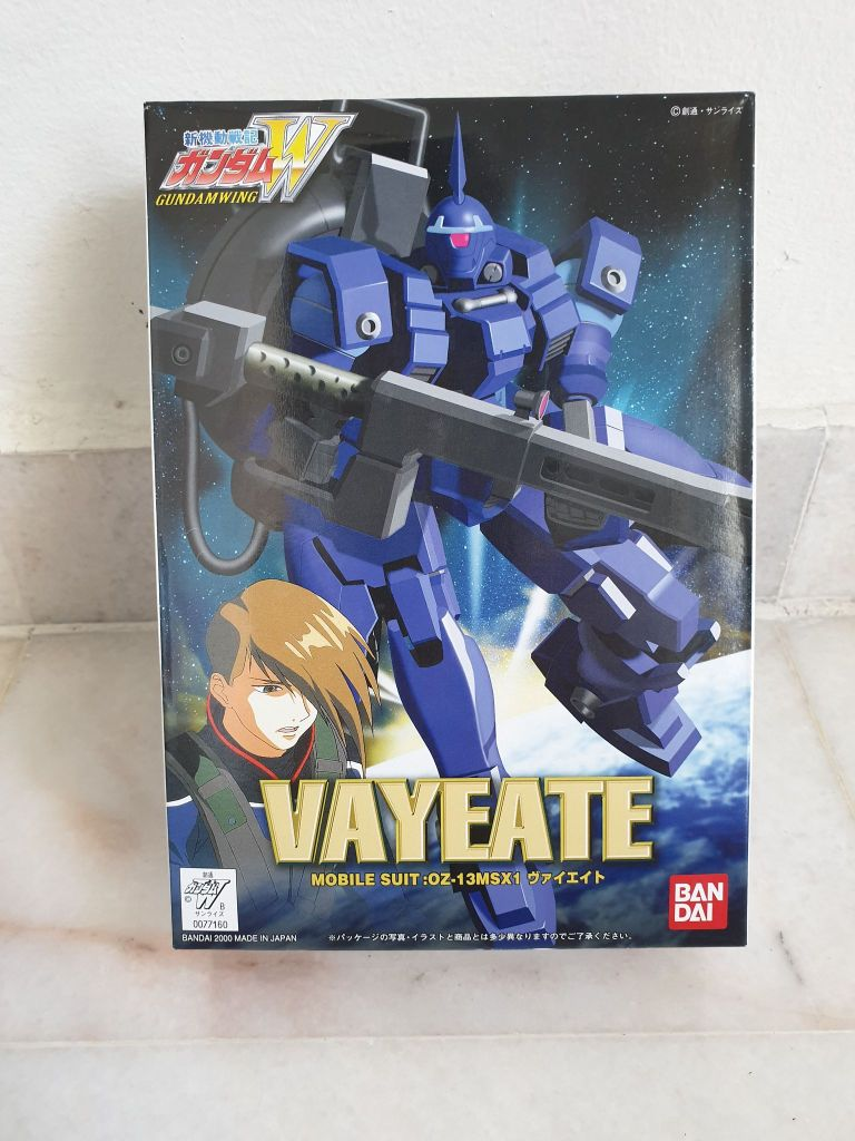 Unboxing and First Impressions of No-Grade 1/144 OZ-13MSX1 Vayeate Ver.WF (Gundam W series 07 Figure Version)